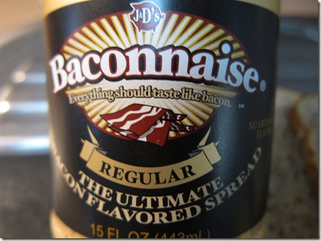 Baconnaise label