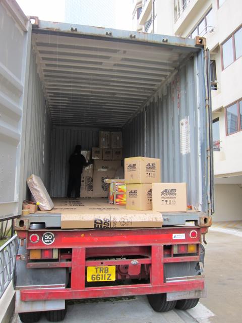 Truck load start