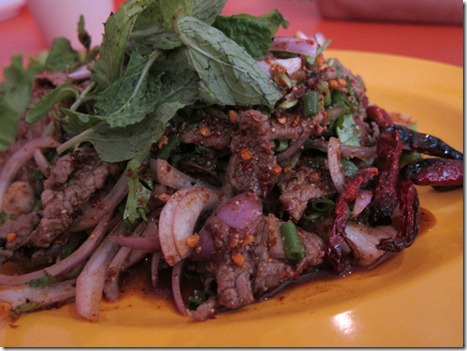 Thai beef salad from Nam Nam