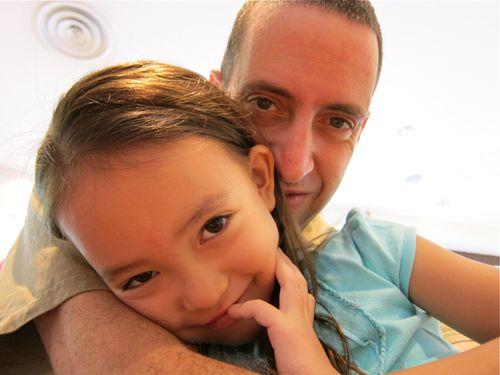 Dad and Kana