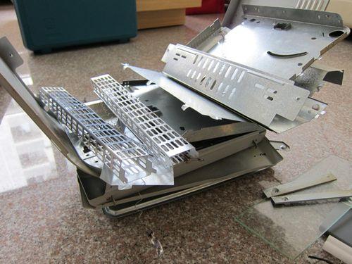 Toaster metal