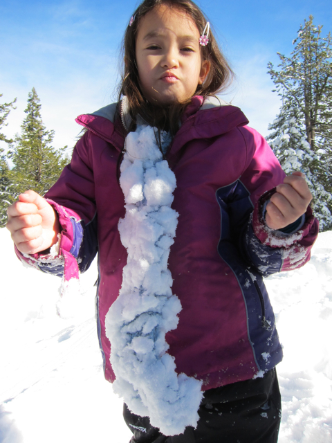 Icicle scarf